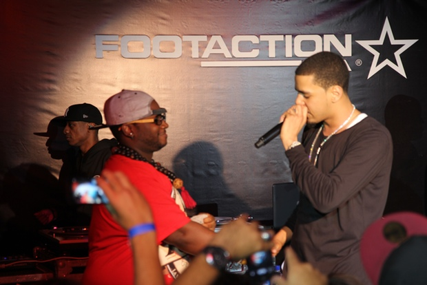 Footaction x J Cole