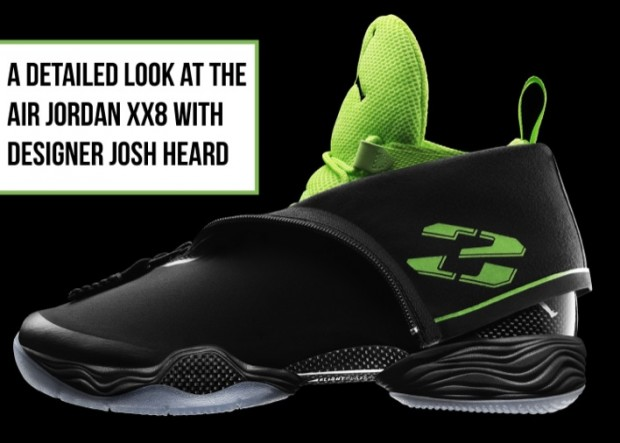 A detailed look at the Air Jordan XX8 with designer Josh Heard