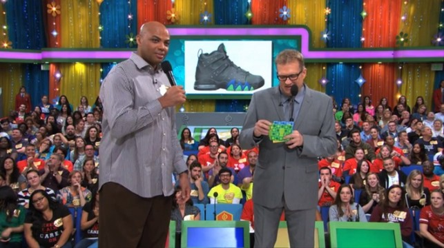Charles Barkley on the Price is Right