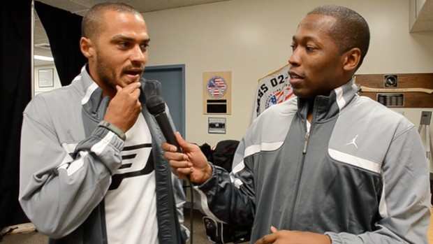 Jesse Williams at Jordan CP3 Day in Los Angeles