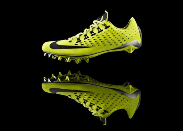 Nike creates football cleat using 3D printing technology
