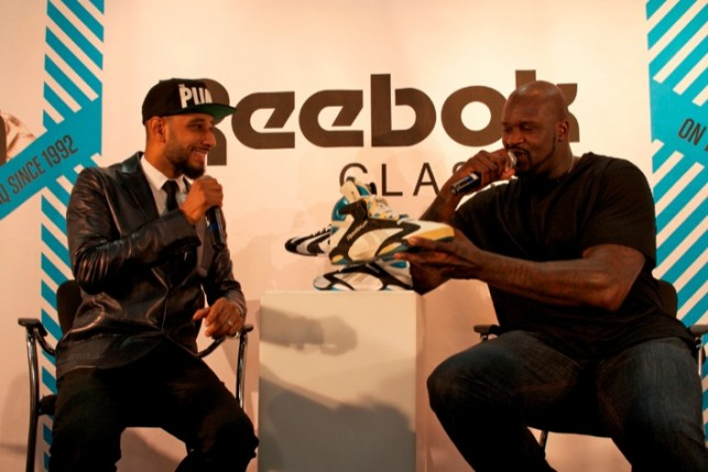 Reebok and Shaq announce the return of the Shaq Attaq and Shaqnosis