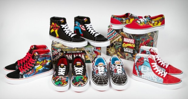 Vans x Marvel for Spring 2013
