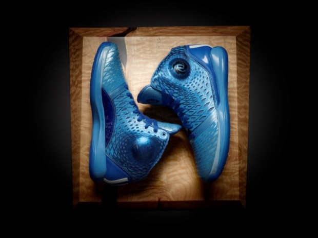 D Rose 3.5 Triple Blue Colorway