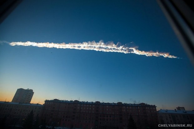 Huge Meteor Breaks Up Over Russia