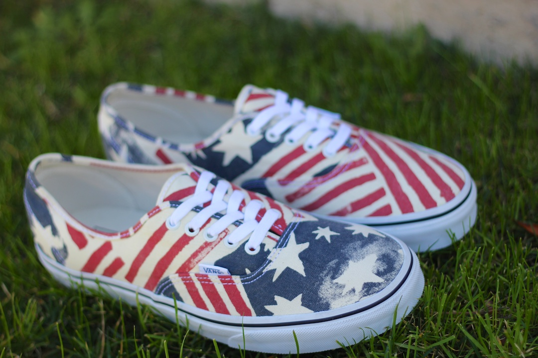 Vans Van Doren Authentic Retro Flag Pair