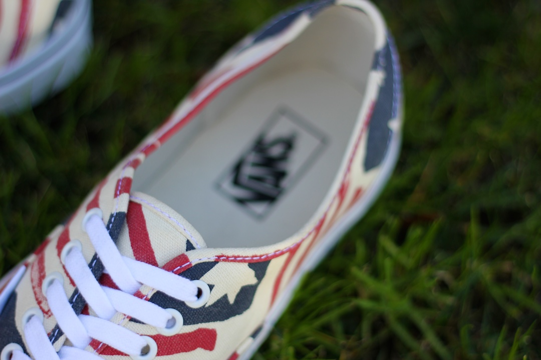 Vans Van Doren Authentic Retro Flag Insole