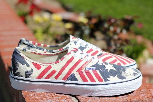 "A Closer Look: Vans Van Doren Authentic ""Retro Flag"""