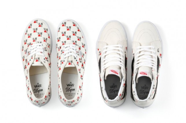 "DQM General x Vans ""I Love New York"" Collection"