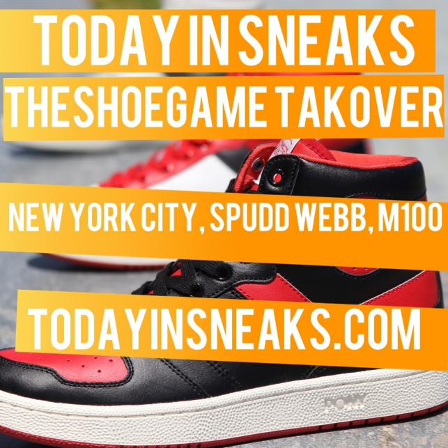 New York City Trip, Spudd Webb, M100, Pony Return, TheShoeGame.com