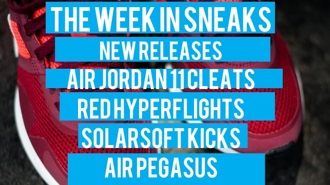 LeBrons Shoes, Hyperflights, and Solarsoft – The Week in Sneaks