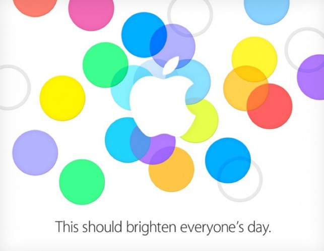Apple iPhone Event On September 10th