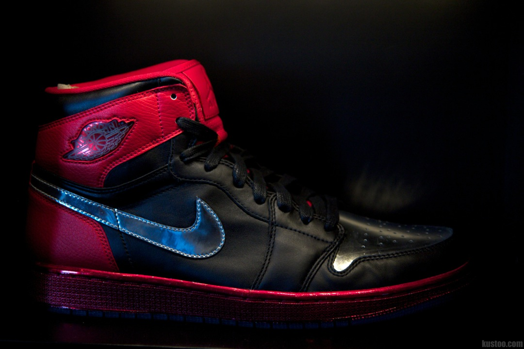"Chris Paul Air Jordan1 ""Black/Red"""