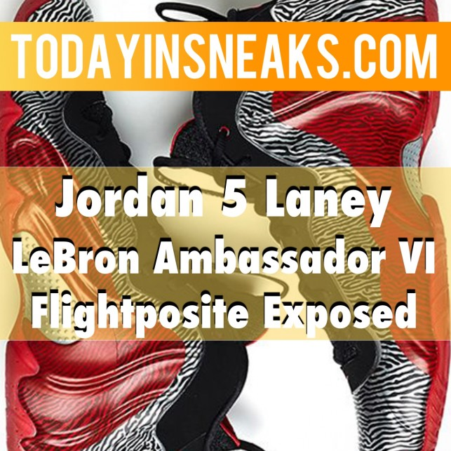 Jordan 5 Laney Info, Nike Air Max 1, Melo M10 – Today in Sneaks