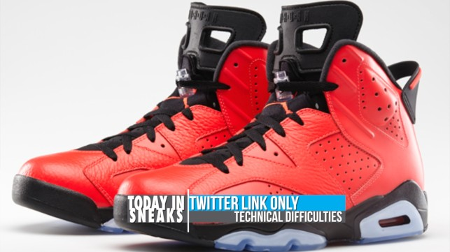 "Jordan 6 ""Infrared 23"", KD VI ""Liger"", ""Tiffany"" Nike SB EU Release – Today in Sneaks"