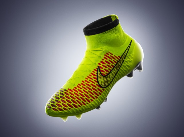 Flyknit Fit For The Pitch: Nike Unveils The Magista Football Boot