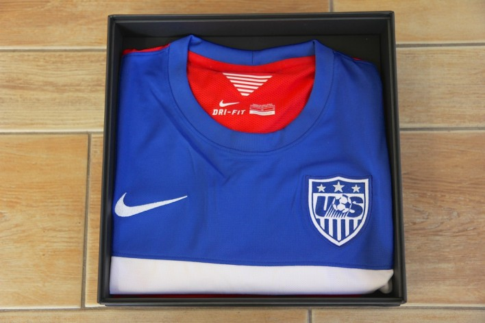 Nike U.S. NATIONAL TEAM AWAY KIT Box shirt