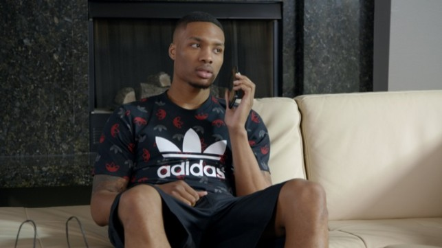 "Foot Locker x adidas ""No Rings"" featuring Damian Lillard"