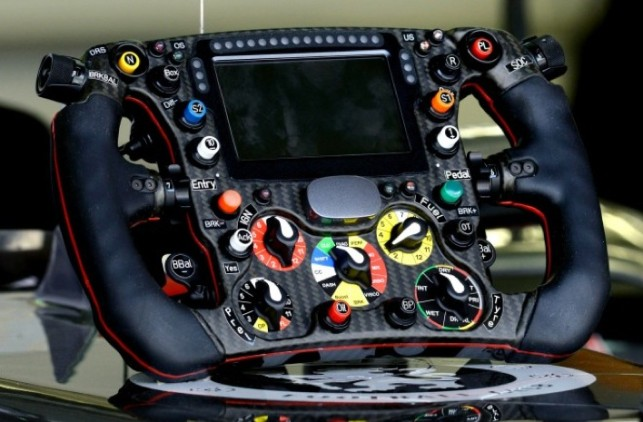 Formula 1 Racing Steering Wheels