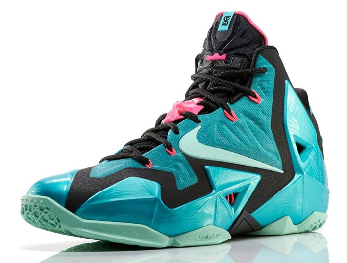 Nike LeBron 11 South Beach Angle