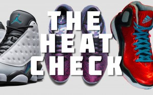 Kobe 9 Elite, Jordan XX9, D Rose 5 Boost, Air Jordan 13 and more on the Heat Check