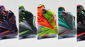 LeBron 12: A Story of Color