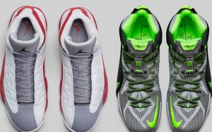 Air Jordan 13 Grey Toe, LeBron 12 Dunk Force, and more on the Heat Check
