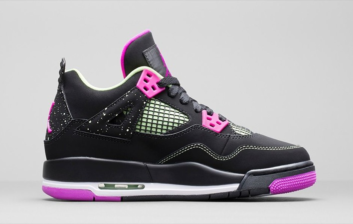 Air Jordan 4 GS Fuchsia-01