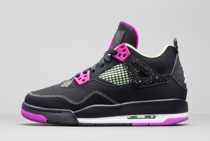 Air Jordan 4 GS Fuchsia-03