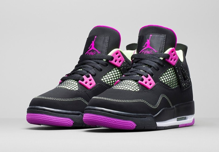 Air Jordan 4 GS Fuchsia-04