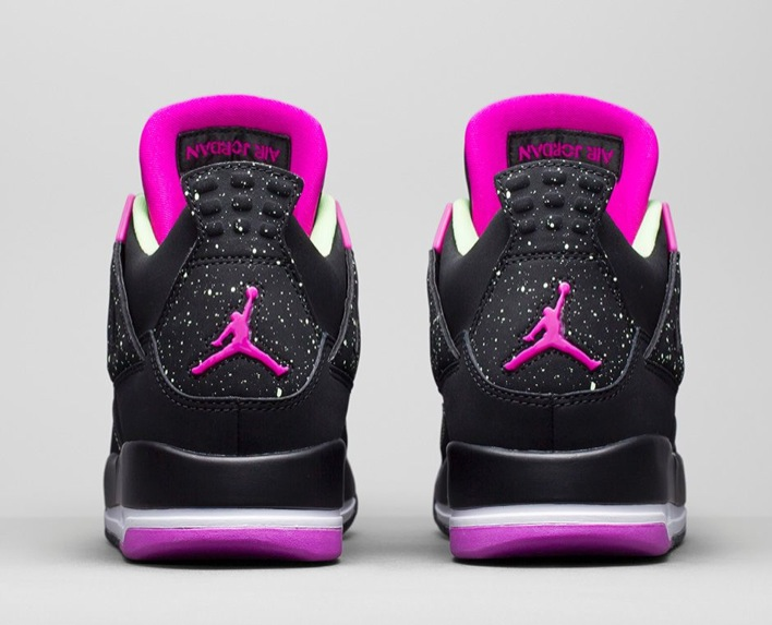 Air Jordan 4 GS Fuchsia-05