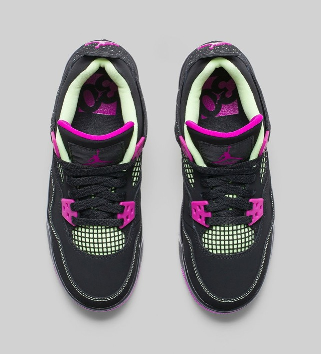 Air Jordan 4 GS Fuchsia-06
