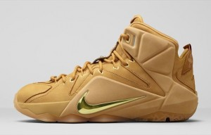 The Nike LeBron 12 EXT Wheat Releases on April 4th